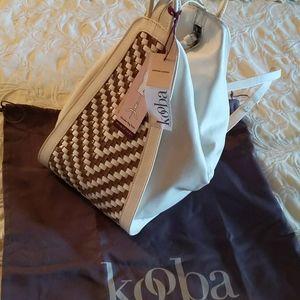 Leather shoulder bag/Calabasas backpack